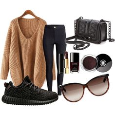 Soleil froid by pal0ma on Polyvore featuring polyvore, fashion, style, H&M, Rebecca Minkoff, Tom Ford, adidas and Chanel