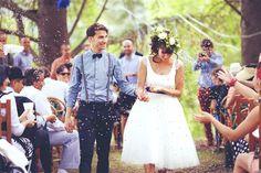 Chemise bleu ciel, pantalon bleu marine, nœud papillon bleu marine, bretelles #mariage