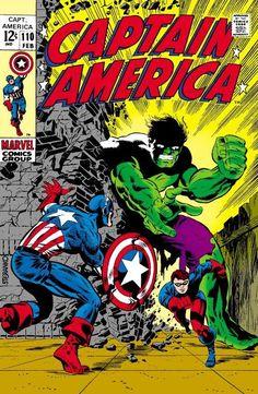 Captain America #110 - No Longer Alone