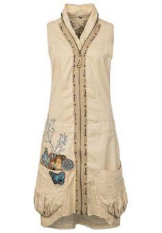 MERYANE - Sukienka koszulowa - beżowy