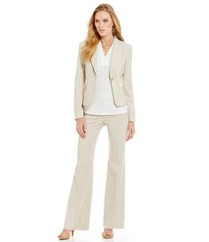 Khaki Suit /Summer/ Work wear style/ office chic/ professional
