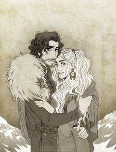 "akita-sensei: """"season 7 where you at "" "" Akita, Jon Snow And Daenerys, Game Of Thrones 3, I Love Games, Kings Game, Violet Eyes, Fire Art, Old Things, Fantasy"