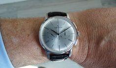 Zenith Elite Chronograph Classic acero en la muñeca 2