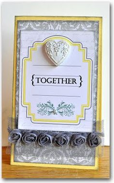 wedding or anniversary card
