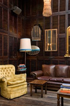 Beautiful Dark Wood Room - perfect for a library   The Local Taphouse Melbourne Gardener & Marks