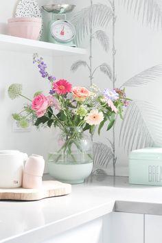 Flowers in the kitchen by MissJettle