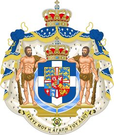 Royal Coat of Arms of Greece