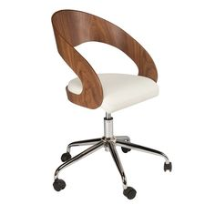 curved padded office chair from dwell best desk chairs housetohomecouk bedroominteresting eames office chair replicas