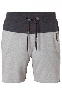 Plein Sport - Soul Grey Jogging Shorts (P17C-MJT0124-SJO001N_1002) Shorts Nike, Sport Shorts, Boy Shorts, Track Pants Mens, Designer Clothes For Men, Sport Outfits, Nickers, Hafiz, Fashion