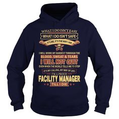 FACILITY MANAGER T-Shirts, Hoodies. BUY IT NOW ==►…
