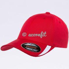 4e8330a3e87ff Wholesale Flexfit 5006 V-Flexfit Sweep Profiled Hat  Red White
