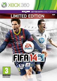 FIFA 14 cover for UK featuring Gareth Bale and Lionel Messi. Will be interesting to see what happens if Bale leaves and goes to Madrid though!