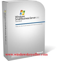 Windows small business server 2011 retail versions with the download link and a genuine license key ,only $55