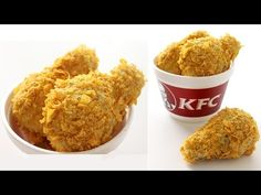 Even fried chicken cake — especially when it's mocha chip-flavored — is finger lickin' tasty. Fried Chicken Cake, Kfc Fried Chicken Recipe, Making Fried Chicken, Kfc Cake, Drumstick Cake, Good Food, Yummy Food, Fun Food, Custard Cake