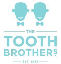 Tooth Brothers dental logo inspiration #branding #marketing