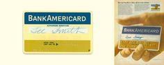 El naming original de la tarjeta de crédito Visa era BankAmericard  #naming #branding #historia #banco #rebajas