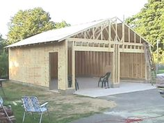 How to build your own 24 X 24 Garage and save money. Step by Step Build Instruct… How to build your own 24 X 24 Garage and save money. Step by Step Build Instructions Plan Garage, Garage Shed, Garage Art, Detached Garage Plans, Garage Workshop Plans, Jeep Garage, Garage Closet, Garage Shop Plans, Garage Workbench