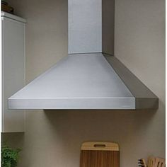 Vent-A-Hood PDH14130SS Euroline 30 Stainless Steel Chimney Style Wall Mount Range Hood