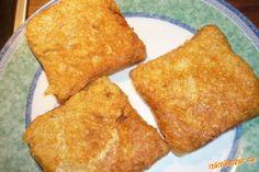 Sýrová mňamka na chlebě - rychlá večeře Cornbread, French Toast, Pizza, Breakfast, Ethnic Recipes, Essen, Creative, Millet Bread, Breakfast Cafe
