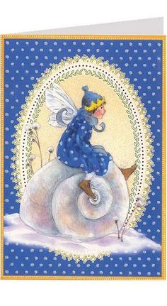 Fairy card from Germany