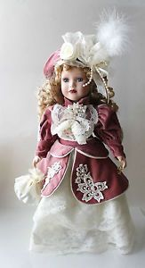 Victorian Collection Genuine Porcelain Doll | ... Camellia Garden Collection Brass Key Victorian Porcelain Doll | eBay