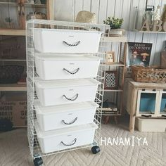 Daiso Japan Products, Craft Organization, Room Inspiration, Diy And Crafts, Room Decor, Tv, Storage, Handmade, House