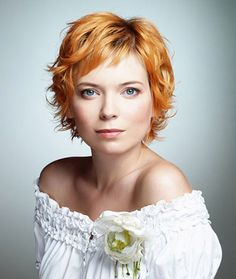 Short Curly Hairstyles with Bangs Cool Hairstyles for Short Wavy Hair 2013 Short Haircut for Women