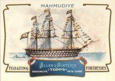 2011 Topps Allen & Ginter - Floating Fortresses #FF7 Mahmudiye Front