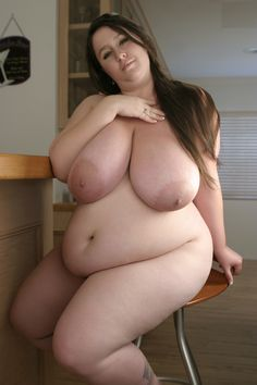 Girl fat saggy tits