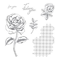 Graceful Garden Clear-Mount Stamp Set143849  Price: $19.00