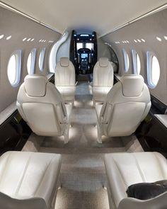Citation Latitude Business Jet - Cabin Interior