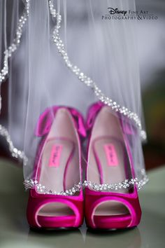 Every bride needs a photo of the shoes she'll walk down the aisle in #wedding