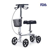 COZ Steerable Foldable Knee Walker Roller Scooter with Basket 8 Antiskid Rubber Wheels Top 14, Knee Scooter, Look Good Feel Good, Electric Bicycle, Scooters, Wheels, Wheelchairs, November 2019, Diving