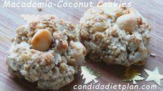 Sugar free Macadamia Coconut Cookies