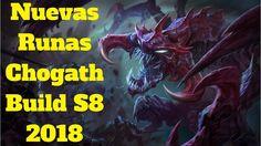 nuevas runas chogath build s8 2018