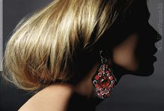 Masha Novoselova for Harper's Bazaar (US, sep. iss 2008, 'Red Hot') by Richard Burbridge