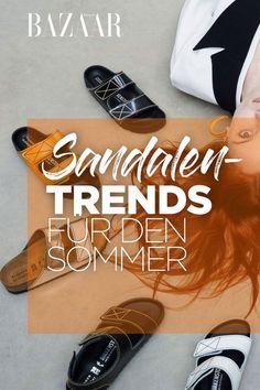 Schuh-Trends: Das sind die bequemsten Sandalen im Sommer 2020 New York Fashion, Fendi, Espadrilles, High, Kayaks, Outfits, Comfortable Sandals, Shoes Sandals, Summer Accessories