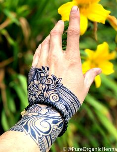 Pure Organic Henna – Pure Organic Henna and Jagua Rosen Tattoo Frau, Henna Cones, Tribal Tattoos, Body Art, Organic, Pure Products