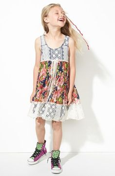Truly Me Floral Dress (Little Girls & Big Girls) available at #Nordstrom
