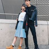 Big sales on stylish korean street fashion! Seoul Fashion, Korea Fashion, Asian Fashion, Trendy Fashion, Tokyo Fashion, Style Fashion, Korean Fashion Trends, Korean Street Fashion, Korean Fashionista