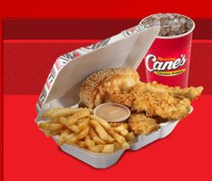 Pure crack - Raising Cane's [it all started in Baton Rouge]