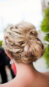 side-curly-bun-upstyle-for-prom-bridesmaid-bride-wedding-graduation