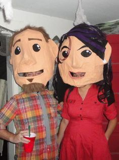 giant head costumes - Google Search