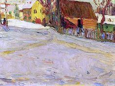 Wassily Kandinsky - City Landscape