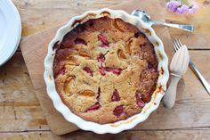 strawberry and apricot frangipane pudding - Belleau Kitchen