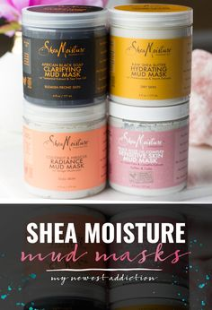 SheaMoisture Mud Masks - My Newest Addiction