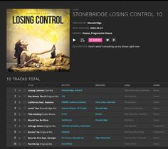 New Beatport chart with highlights from the tour: STONEBRIDGE LOSING CONTROL 10 - check it out    https://pro.beatport.com/chart/stonebridge-losing-control-10/346149 #stonebridge #losingcontrol10 #beatport