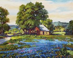 Country Blue, Impressionist Paintings, Documentaries, Fine Art, Group, Visual Arts