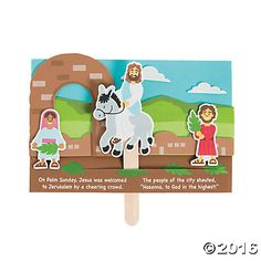 Jesus Enters Jerusalem Pop-Up Craft Kit