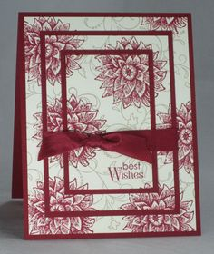 Creative Elements Triple Time by - Cards and Paper Crafts at Splitcoaststampers awesome Fun Fold Cards, Diy Cards, Fall Cards, Christmas Cards, 4 Image, Mother Card, Creative Arts And Crafts, Making Greeting Cards, Stamping Up Cards